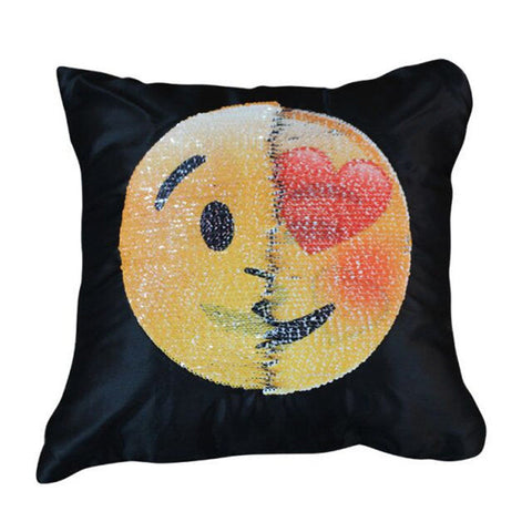 Changing Emoji Pillows