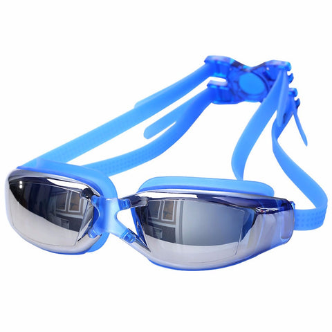 New Professional Waterproof Anti-Fog and UV Protecting Swim Glasses / Goggles
