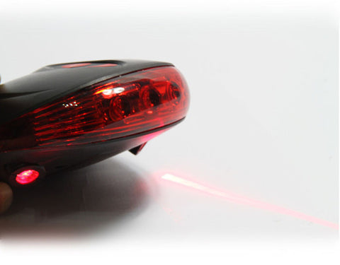 2 Laser Projector Beam Bike Tail Lights