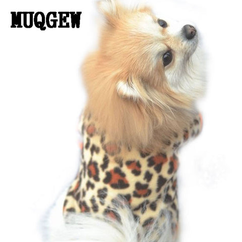 Warm Winter Coat for Small dogs like Chihuahua and Dachshunds Panter print