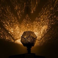 Romantic Rotating Star Projector Light
