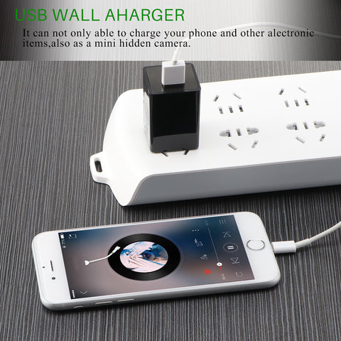 Wireless HD Camera USB Wall Charger