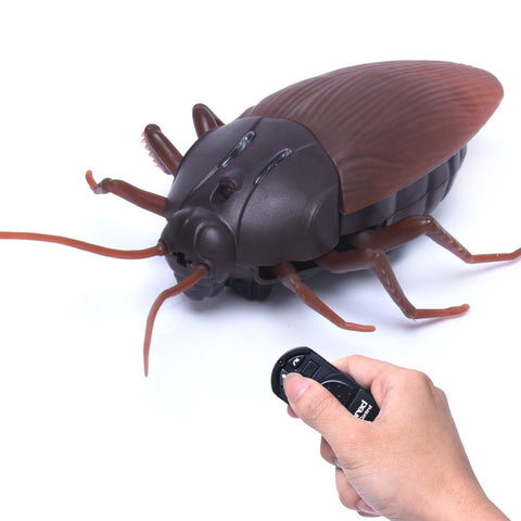 Best Prank Ever:  Remote Controlled Cockroach