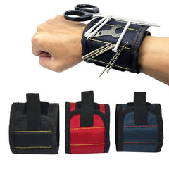 Image of Essential Magnetic Wristband with Built-in Strong Magnets for Holding Screws Nails, Drills and Bits