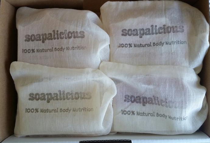 7 Soaps + 10% Off ($50.40 with or $47.25 without bags)