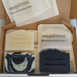Gift Box - Selection of 4 Soaps