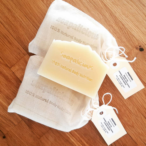 Lemongrass, Crookwell Lavender, Rosemary & Australian Peppermint Shampoo Bar - Palm Oil Free