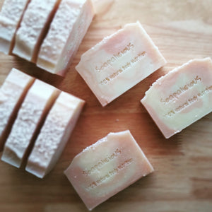 Lemongrass, Pink Clay & Tapioca Soap