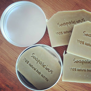 Green Clay, Fresh Aloe Vera, Australian Lavender & Sandalwood Shaving Bar