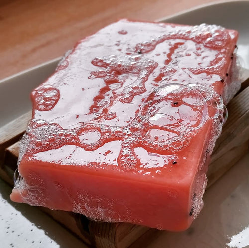 Australia Orange & Poppyseed Soap with Australian Kaolin Clay