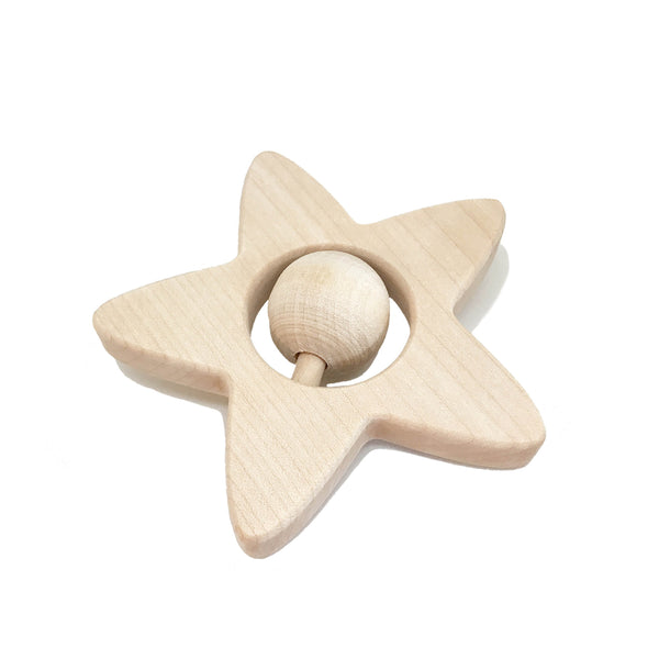Rattle Star - Package with 3 pcs