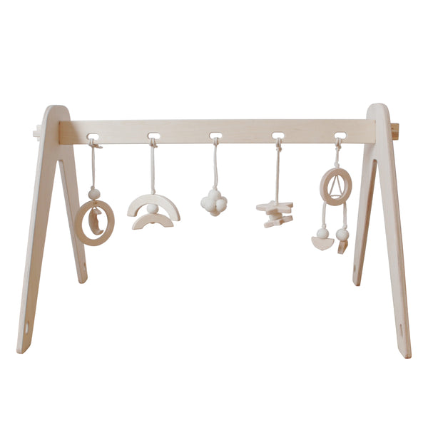 1st Play Baby Gym - White Dream