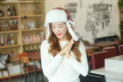 Topi Winter Red Deer Import