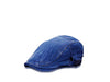 Zivton Flat Cap Wash Denim Blue