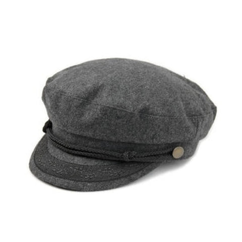 Goorin Sailor Hat Dark Gray