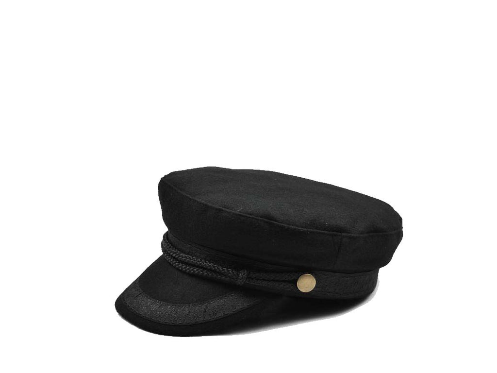 Zivton Sailor Hat Black