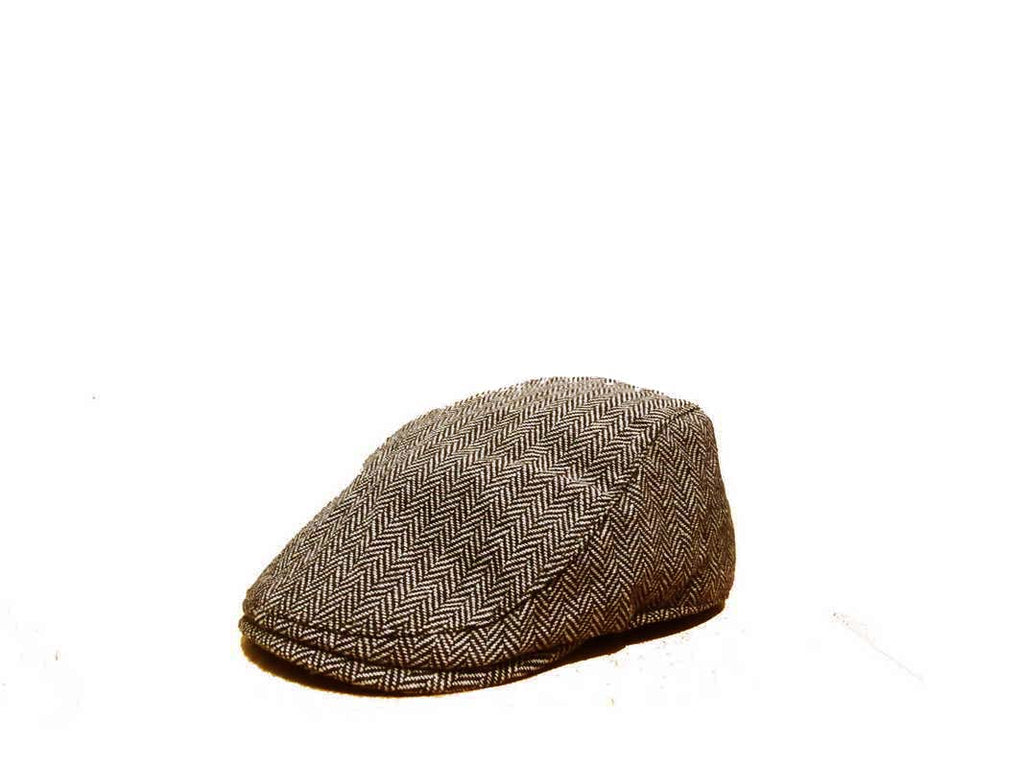 Zivton Flatcap Tweed Brown