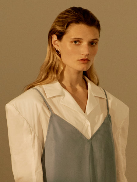 Sara Robertsson Jewellery featured in Moon Choi Spring Summer 18 lookbook.