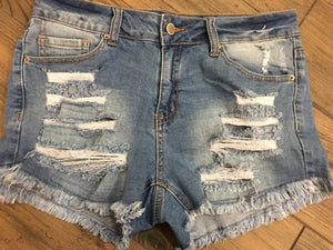 Distressed Shorties