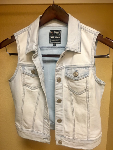 Light Denim Vest