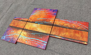 Painting Samples of Texture Painting, Abstract Acrylic Paintings, Hand Painted Acrylic Paintings