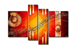 4 Piece Wall Art
