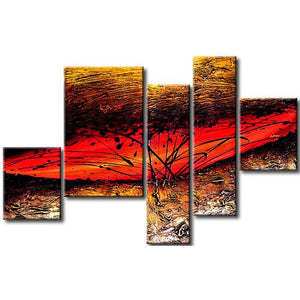 5 Piece Wall Art