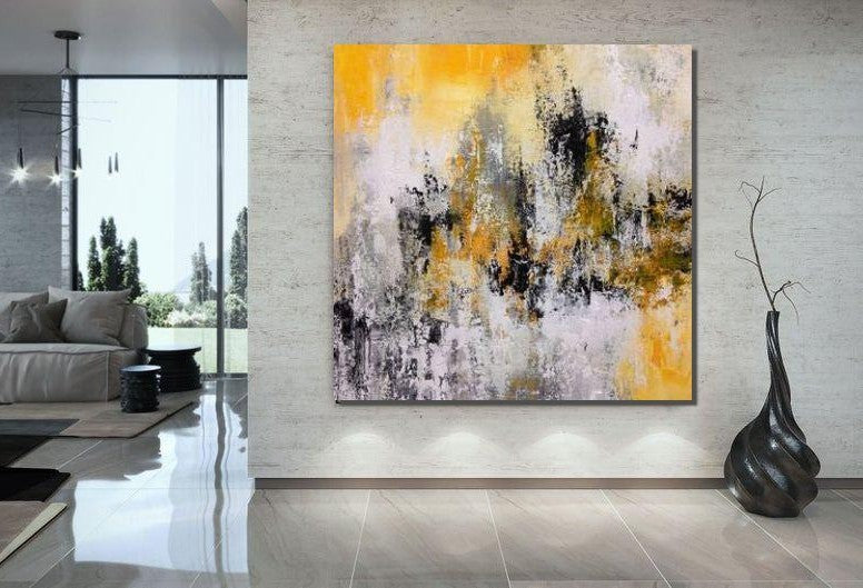Large Paintings for Bedroom, Living Room Acrylic Painting, Contemporary Painting, Modern Art, Large Canvas Painting
