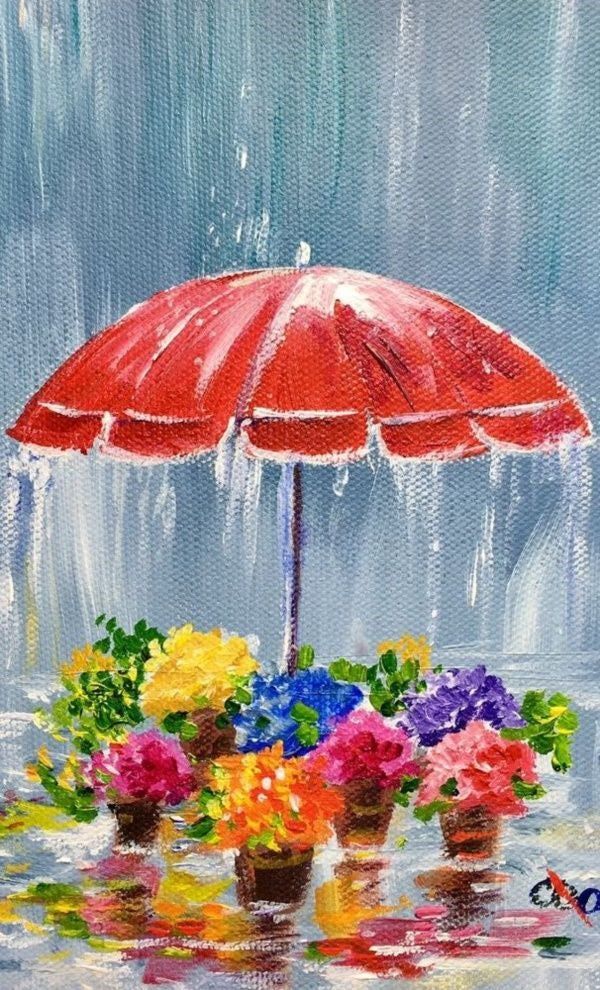 Easy acrylic painting ideas, easy canvas painting ideas for beginners, simple abstract painting ideas, cute acrylic painting ideas