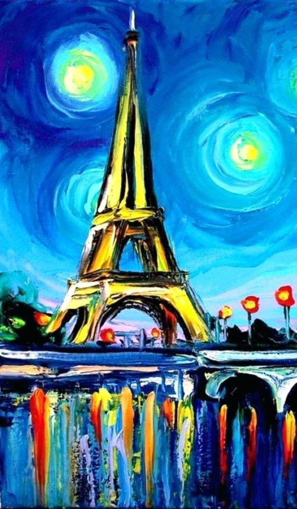 30 Easy Acrylic Painting Ideas for Beginners, Easy Landscape Paintings, Easy nature painting ideas, beginner's painting, heavy texture painting ideas