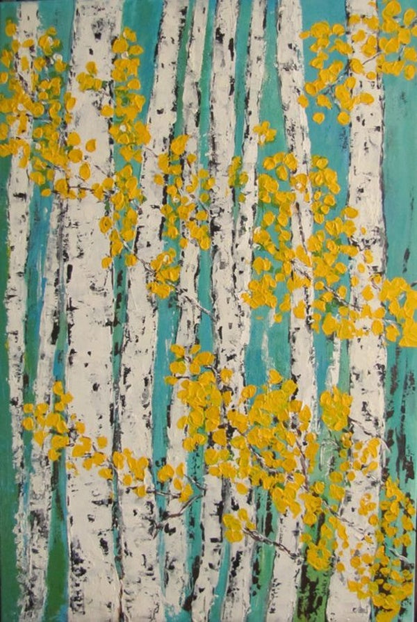 Easy Landscape Painting Ideas for Beginners, Easy Tree Painting Ideas for Beginners, Simple Acrylic Abstract Painting Ideas