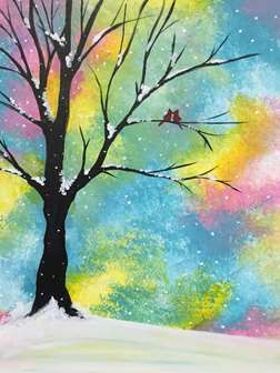 30 Easy Tree Painting Ideas for Beginners, Easy Landscape Painting Ideas, Simple Acrylic Abstract Painting Ideas