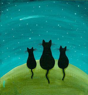 Easy acrylic painting ideas, easy canvas painting ideas for beginners, simple abstract painting ideas, cute cat acrylic painting ideas
