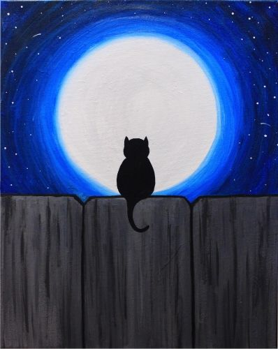 Easy acrylic painting ideas, easy canvas painting ideas for beginners, simple abstract painting ideas, cute cat painting ideas