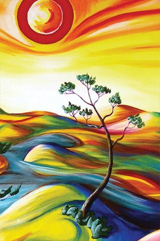 Simple Acrylic Abstract Painting Ideas, Easy Canvas Painting Ideas, Easy Tree Painting Ideas for Beginners, Easy Landscape Painting Ideas