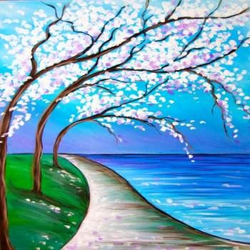 Easy Tree Painting Ideas for Beginners, Easy Canvas Painting Ideas, Simple Acrylic Abstract Painting Ideas, Easy Landscape Painting Ideas