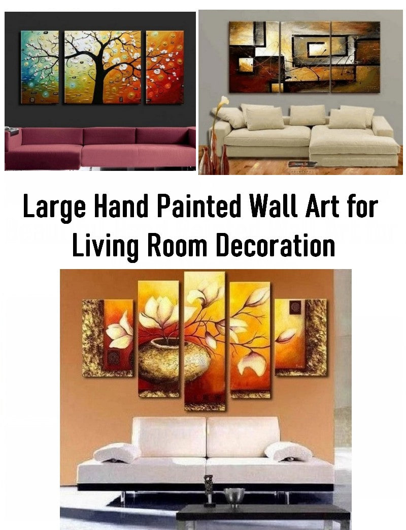Living Room Paintings, Large Paintings for Living Room, Living Room Wall Art Ideas, Buy Art Online, Hand Painted Canvas Art