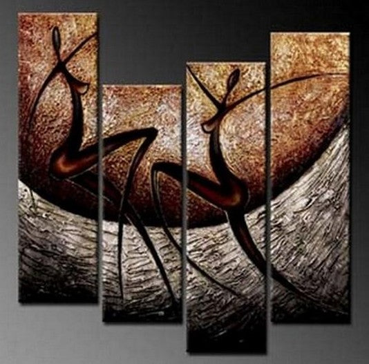Abstract Figure Painting, Living Room Wall Painting, Living Room Painting Ideas, Modern Wall Art Paintings