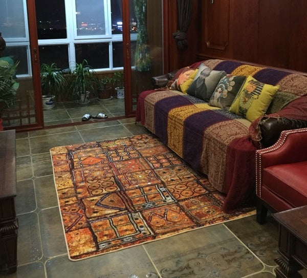 Ethnic Style Nylon Carpet, Floor Carpet and Rugs for Living Room