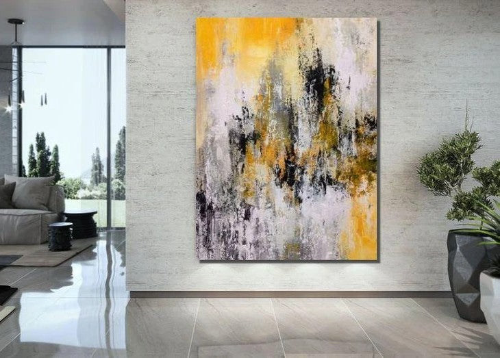 Extra Large Wall Art Painting, Acrylic Painting for Dining Room, Modern Contemporary Abstract Artwork