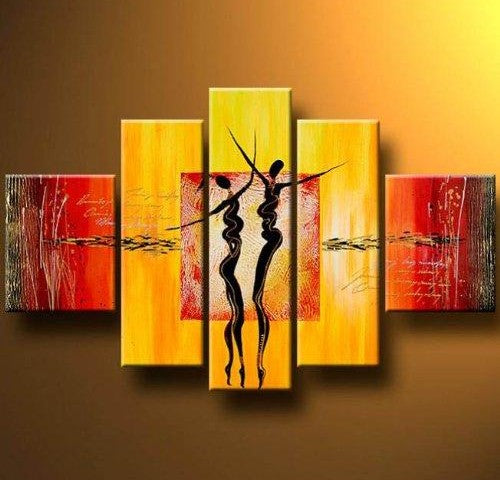 Abstract Art of Love, Simple Modern Art, Acrylic Canvas Painting, Modern Acrylic Paintings, Abstract Painting for Bedroom
