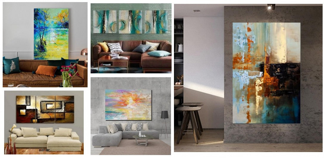 Hand painted wall art, modern art for living room, bedroom canvas art, large wall art ideas for living room, large painting for sale, simple modern art, modern paintings, abstract acrylic art, buy paintings online