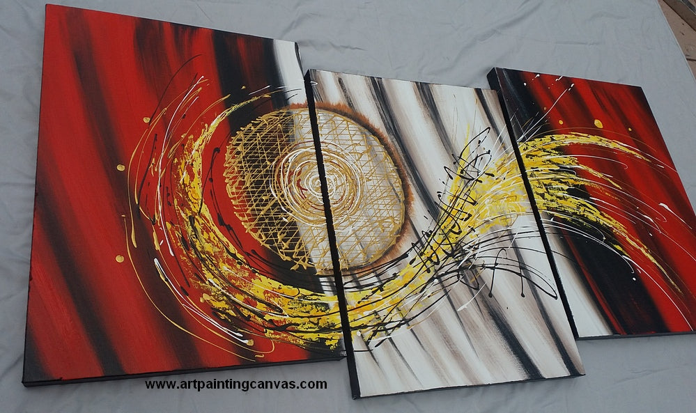 3 piece canvas art, 3 piece wall art, large art painting