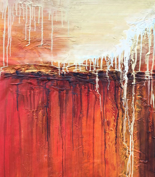 Abstract Canvas Painting, Kitchen Art, Painting Abstract, Large Abstract Art, Oil Painting Original, Modern Art, Abstract Oil Painting - Art Painting Canvas