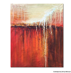 Abstract Canvas Painting, Kitchen Art, Painting Abstract, Large Abstract Art,  Oil Painting