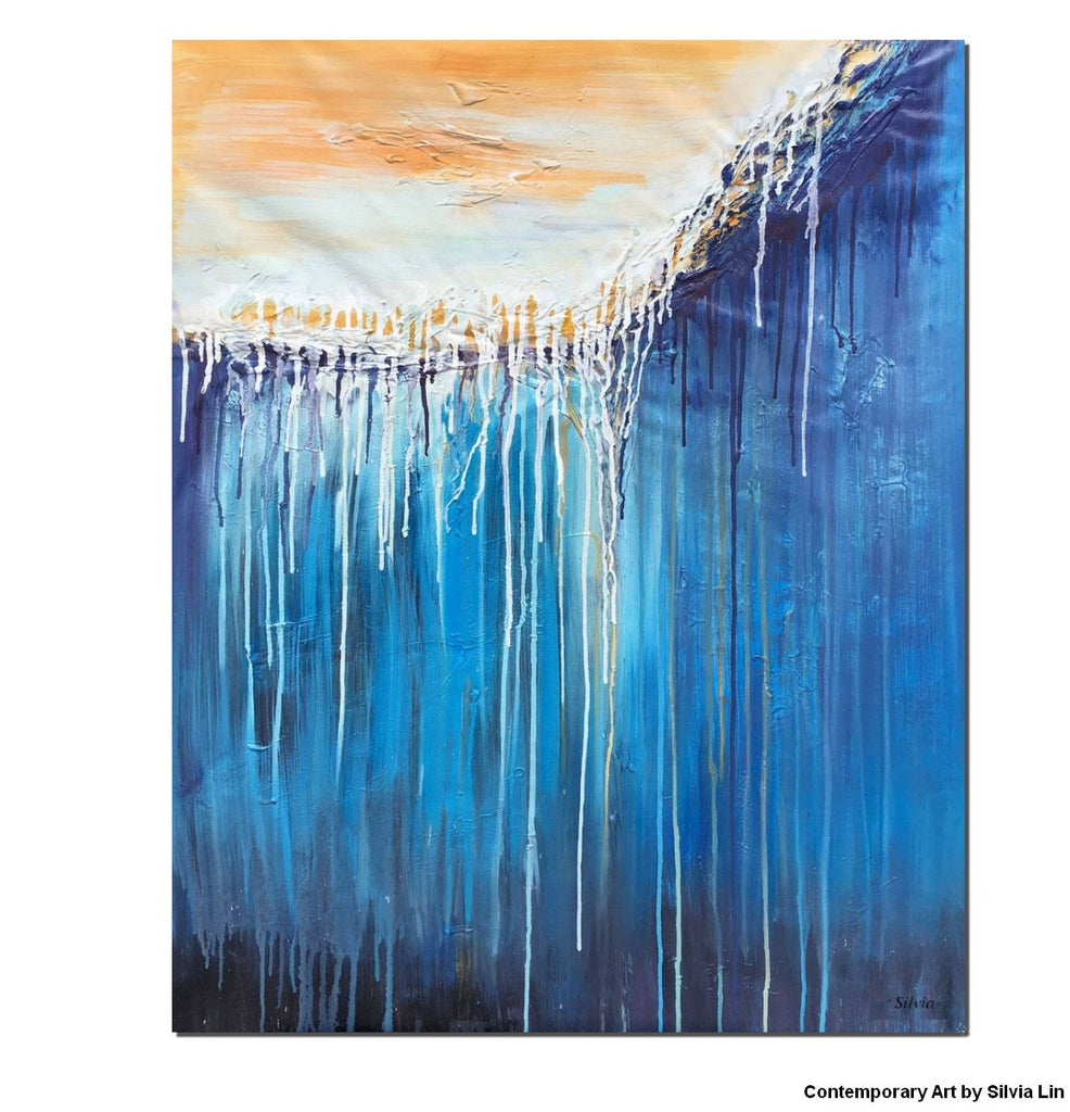 Abstract canvas art dorm decor canvas art contemporary art oil painting abstract