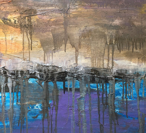 Abstract Painting, Contemporary Painting, Canvas Painting, Fine Art, Oil Painting Original, Large Oil Painting, Abstract Landscape Painting