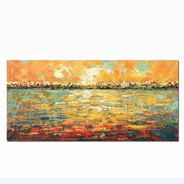 Oil Painting, Landscape Painting, Large Art, Canvas Art, Abstract Oil Painting, Original Art, Modern Art, Abstract Canvas Art, Contemporary Art