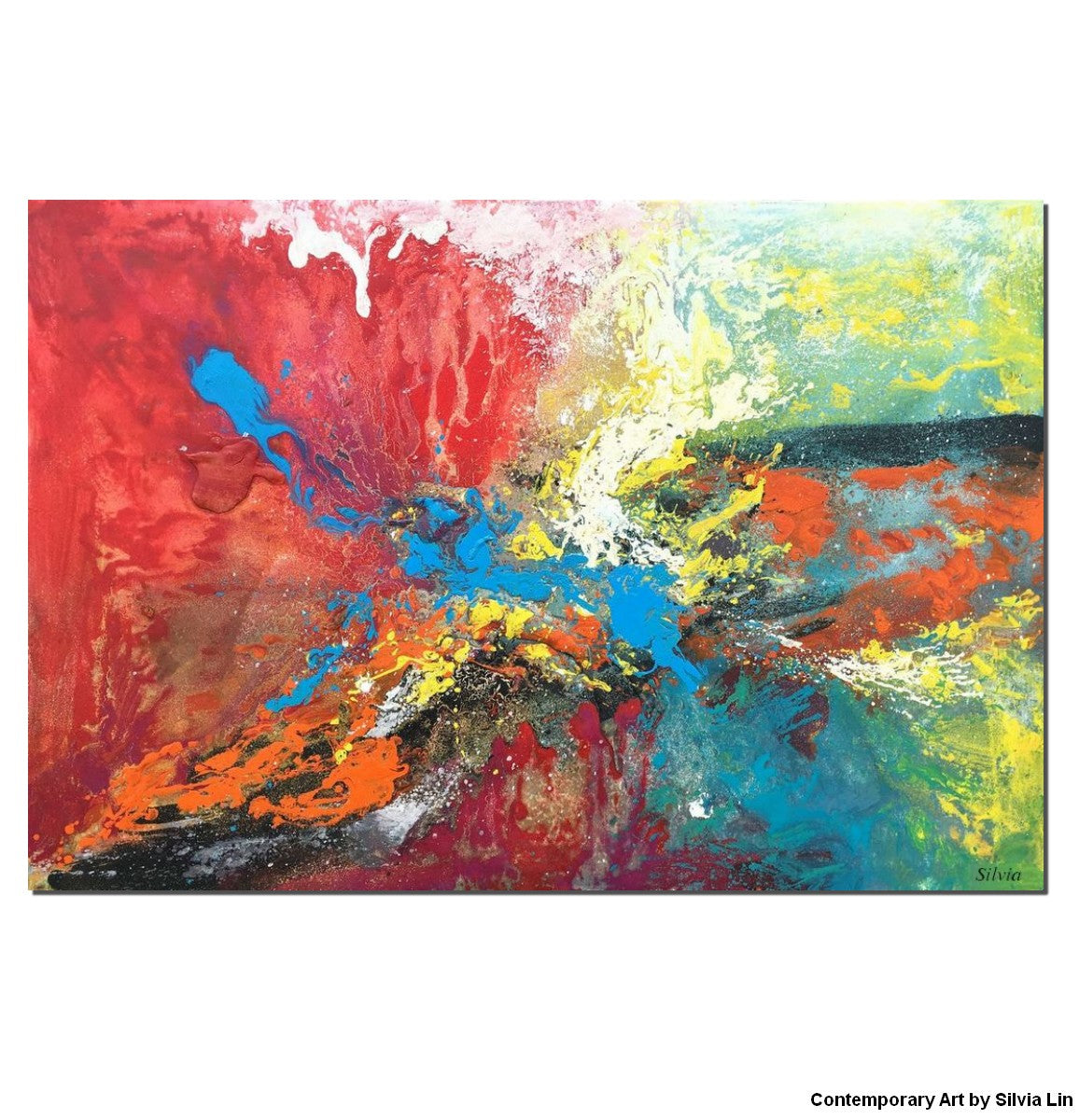 Abstract Painting Large Canvas Art Abstract Canvas Painting Contemporary Art Bedroom Art Original Art Painting Abstract Abstract Art
