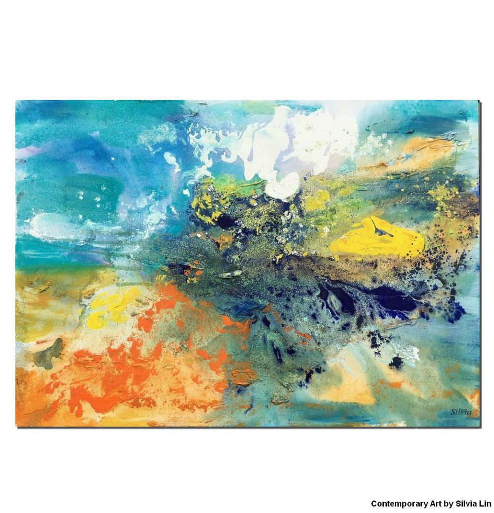 Abstract painting large canvas art oil painting canvas painting abstract art